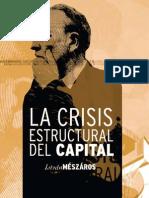 Crisis Estructural Capital
