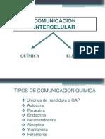 Comunicacion Intercelular y Transporte en Membranas