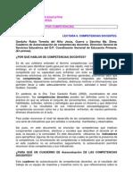 AUTOEVALUACION COMPETENCIAS DOCENTES
