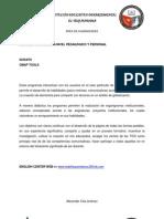 USOS DE PROGRAMAS A NIVEL PEDAGÓGICO Y PERSONAL Scrath and Cmptools