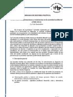 CONVOCATORIA V JORNADAS DE HISTORIA POLÍTICA