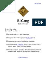 R1C Scouts Badge