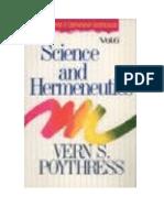 Science and Hermeneutics