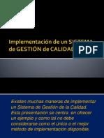 Implementación de un SGC[1]
