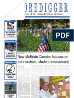 The Oredigger Issue 2 - September 12. 2011