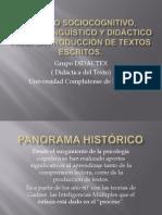 MODELO SOCIOCOGNITIO, PRAGMALINGÜÍSTICO Y DIDÁCTICOPARA LA PRODUCCIÓN