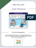 MBA- Strategic Management Notes