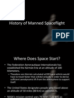 History of Manned Spaceflight