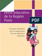 Perfil Educat. Región Puno