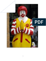 McDonald's 4P's Of marketing