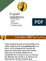 El Guion Radiofonico Conceptos Idea Sinopsis y Tratamiento