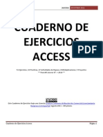 Cuaderno de Ejercicios Access
