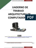 Cuaderno de Practicas Arquitectura PC