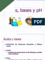 Ácidos, bases y pH