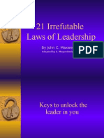 21 Laws of Leadership
