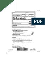 03 5MB1H Unit 1 - Mock Paper