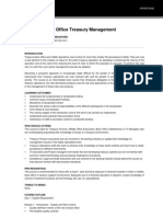 Middle & Back Office Treasury Management