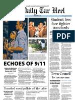 The Daily Tar Heel for September 12, 2011