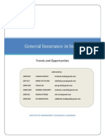 Trends Opportunities in Insurance Sector