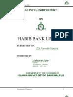 HBL Report 1