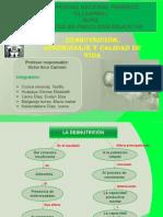 DESNUTRICIÓN,APRENDIZAJE Y CALIDAD DE VIDA 2011-PERU