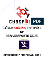The Sponsorship Proposal of Cyber King
