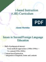 04 CBI Curriculum