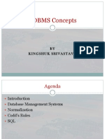 Basic RDBMS Concepts