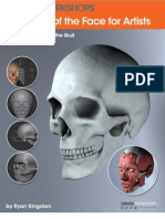 ZBrushWorkshops Anatomy of Face V1 Skull Beta 2