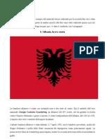 Lavoro sulla bandiera e approfondimento sulla storia dell'Albania