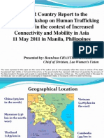 Examples of Trafficking Prevention Projects from Lao PDR