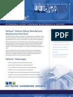 NetSure(tm) Hardware Maintenance Overview 2009