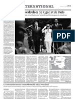 La contestation monte contre Mswati III, roi du Swaziland (11 septembre 2011, Le Monde)