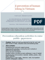 Examples of Trafficking Prevention Projects from Viet Nam