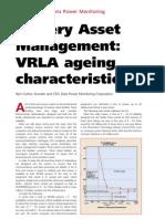 Battery Asset Management VRLA