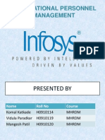 Imcost Final Infosys Ppt