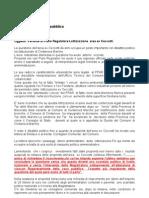 Lottizzazione Ex Ceccotti Alla Procura Della Pre Public A