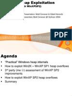XPSP2 Heap Exploitation