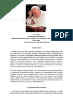 Carta Apostólica del Sumo Pontífice Juan Pablo II, al episco