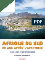 Afrique du Sud, 20 ans après l'apartheid