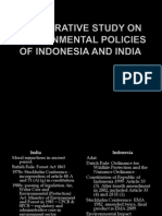 Comparative Study on Environmental Policies of China And