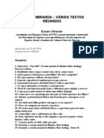 Renato Miranda - Vários Textos Reunidos - Educação física e Qualidade de Vida