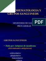 INMUNOHEMATOLOGIA Y GS