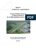 Draft Environmental Assessment for the Replacement of the Griffin-Spalding County Airport