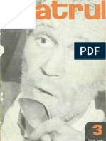 Revista Teatrul, nr. 3, anul XII, martie 1967