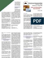 Predigtskript 2008-08-10, Taufe und Ritterschlag