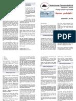 Predigtskript 2008-08-24, Evangelisation 1
