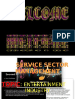 Entertainment Sector-group 3