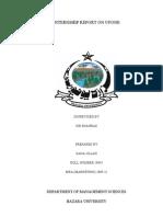 Internship Report on Ufone Telecom