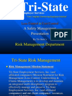 Risk Management Power Point Presentation 2865